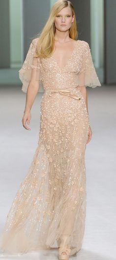 Vestido de noiva champagne: 10 inspirações apaixonantes do Pinterest | As Lembrancinhas de Casamento