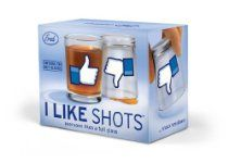 I LIKE SHOTS Shotglasses - Set of 2 //  Description Full Glass? Thumbs Up! Knock it back, flip the glass, and you get a decidedly less enthusiastic Thumbs Down. It's a drinkable new dimension in social media. You get two heavy glass shot glasses in each colorful giftbox. //   Details   Sales Rank: #184607 in Kitchen & Housewares  Brand: Fred Model: FFFILS Dimensions: 2.50 h x 2.25 w x 2.25 l,.// read more >>> http://Rexford43.tca9.com/detail3.php?a=B00G5LWVVE