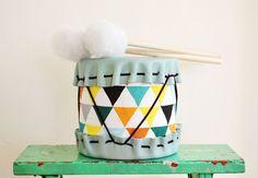 Adorable DIY Drums For Children | Kidsomania