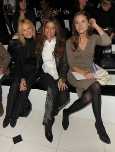 Lauren Bush and Ricky Lauren Photos Photos: Ralph Lauren Collection - Front Row - Fall 2010 MBFW Ralph Lauren Love, Lauren Bush, Ralph Laurent, Ralph Lauren Collection, Rocker Chic, Front Row, Beautiful Outfits, Mercedes Benz, Fashion Show