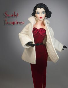 """JAMIEshow Gene Marshall ~ """"J'Adore"""" in EDaH coat ~ Wig by Ilaria ~ Image and styling by Tom Logan ~ The Studio Commissary"""