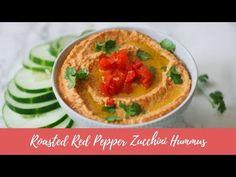 Roasted Red Pepper Zucchini Hummus (Paleo, Vegan) [VIDEO] – what great grandma ate