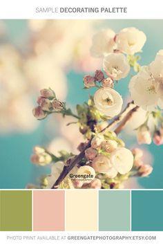 Scheme Color, Color Schemes Colour Palettes, Spring Color Palette, Paint Color Schemes, Colour Pallette, Color Palate, Spring Colors, Spring Flowers, Color Combos