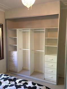 Storage solutions – Fantastic Built in Wardrobes Corner Wardrobe Closet, Wardrobe Room, Wardrobe Design Bedroom, Bedroom Closet Design, Room Ideas Bedroom, Home Room Design, Closet Designs, Bedroom Decor, Closet Renovation