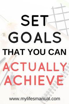 Slay Your Goals Plan