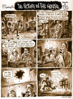 "Today's Underwhelming Lovecraft Comic Synopsis is ""The Picture in the House"", originally published in the July 1919 issue of The National Amateur. This might be the last one of these I do for awhile; I'm going to focus all my drawing time on a big..."
