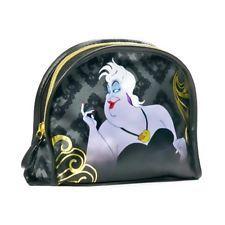 "Disney Villains Ursula Make Up Bag Round Top 6 x 7 1/2"" New w Tags"