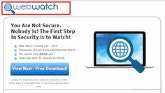 Wie entfernen Ads by WebWatch vom Computer | Saubere PC Malware
