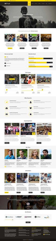 Trust is a Non-profit WordPress theme which has been designed to cater to non profits, NGO, other organizations of non profit, donation, charity and other types of websites. It has enough areas where it shows donation buttons. #ngoWordPresstheme #nonprofitWordPresstheme #WordPresstemplates #WordPressdesign