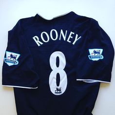 How many more games does Wayne have left at old Trafford? #rooney #waynerooney #rooney8 #wazza #mufc #manunited #manchesterunited #manutd #united #oldtrafford #football #footballshirt #retro #retroshirt #retrofootball #retrofootballshirt #vintage #vintagefootball #vintagefootballshirt #classickit #classicfootball #soccer #soccerjersey #premierleague #premiership