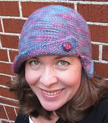 Ravelry: The Not-Just-For-Chemo Reversible Cloche pattern by Mary Keenan