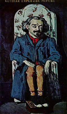 Portrait Of The Painter, Achille Emperaire Artwork By Paul Cezanne Oil Painting & Art Prints On Canvas For Sale Aix En Provence, Paul Cezanne, Cezanne Art, Renoir, National Gallery Of Art, Art Gallery, Medan, Matisse, Cezanne Portraits
