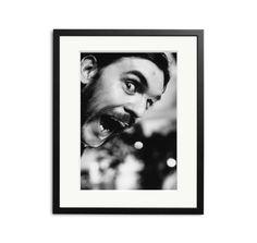 Lemmy Kilmister in Portsmouth, 1983.