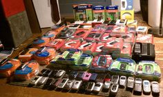 I have 73 Phones total, but one isn't pictured. It is a Black Samsung M510 from Sprint.    I have phones from the following carriers:    AT / CINGULAR  SPRINT / NEXTEL  VERIZON  VIRGIN MOBILE  BOOST MOBILE  ALLTEL  TRACFONE  NET 10  QWEST (Ran off the PCS Netw the next massive cash wave of mobile. (learn more on   http://www.localmobilemonopoly.com/?hop=bobmarlei