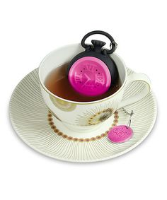 Look at this #zulilyfind! Pink Teatime Tea Infuser by DCI #zulilyfinds. $6.99
