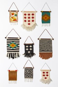 Combed Thunder wall tapestries and weaving tips