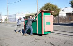 2 Gregory Eloehn Turns Trash Into Homes For The Homeless