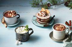 Frozen Pecan Pie Hot Chocolate Milkshake Recipe