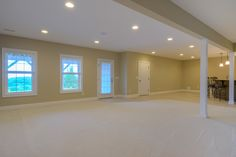 Huge game room space.