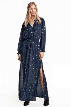 Vestido de gasa   H&M