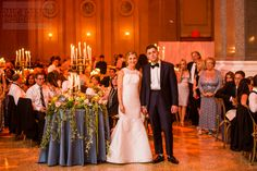 Beautiful wedding bash planned and designed by Bellafare at Brooklyn's Weylin B. Seymour's.  #WeylinBSeymours #Bellafare #KleinfeldBridal