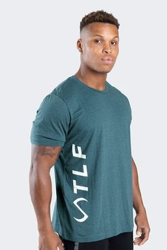VOGUE MENS SLIM FIT CROSSFIT FITNESS T-SHIRTS GYM RUNNING WORKOUT PRINTING TEE
