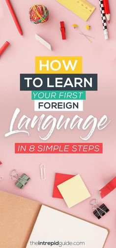 Want to learn a foreign language but not sure where to start? From apps to audiobooks and little-known hacks, this beginner's guide to language learning will show you how step-by-step. Learning Languages Tips, Learning Apps, Learning Resources, Learn Languages, Study French, Learn French, Learn English, Kids English, Learning A Second Language