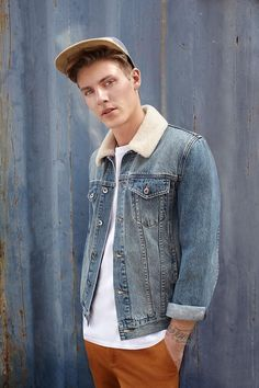97ec76c3106 Mikkel Jensen Goes Casual in Forever 21 Men Fall 2015 Fashions