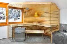 KÜNG AG Saunabau, Wädenswil, Switzerland: Glass