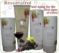 Natural Anti Aging Resveratrol Skin Care by 100% Pure at Leaf & Bud Naturals! Antioxidant power!