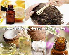 Recettes contre la chute des cheveux