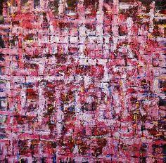 """Saatchi Art Artist Ed EJCairns Cairnduff; Painting, """"""""Crimson Maze"""""""" #art"""
