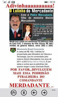 VAMOS MUDAR ESSE NOSSO BRASIL POVO BRASILEIRO PARA UM NOVO BRASIL.