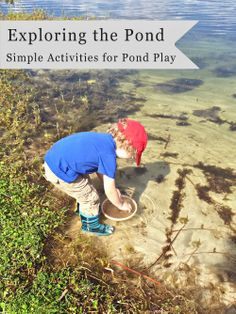 Fun homemade toy ideas for water play! Exploring the Pond: Simple Activities for Pond Play (Guest Post by Joys of the Journey)