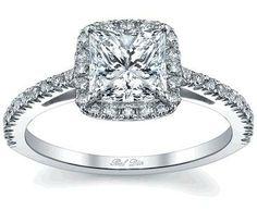 Diamond Vintage Engagement Rings Princess Cut 49