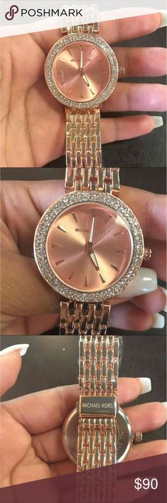 Michael kors rose gold watch Too big for my wrist Michael Kors Accessories Watches