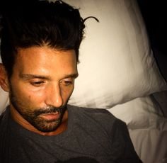 Frank Grillo. Idk what's going on but I like it