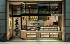 Nutorious, The Galeries Victoria, Sydney. Design by Luchetti Krelle. Photo by Michael Wee.