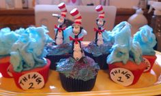 I did these cupcakes