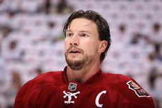 A proud Captain Shane Doan gets ready to take on the Kings in the Western Conference Finals.