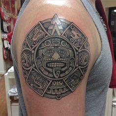 """Aztec Calendar #aztectattoo"