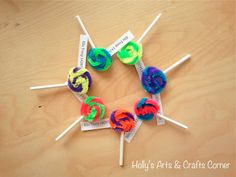 Girl Scout Lollipop swaps - super easy and cute!