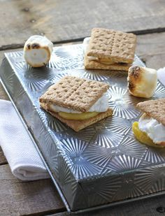 Lemon Lime Meringue S'mores - FoodBabbles.com