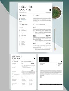 Resume Cover Letter Template, Cover Letter Format, Resume Design Template, Letter Templates, Resume Ideas, Application Letters, Modern Resume Template, Professional Resume, A Team
