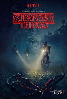 Stranger Things trailer (new TV series from Netflix).