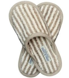 Stylish and so comfortable- luxury linen slippers