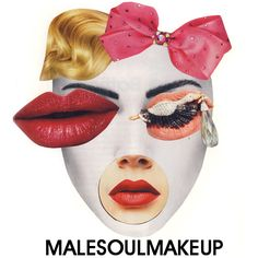 #Malesoulmakeup  #collage by #LucaMainini
