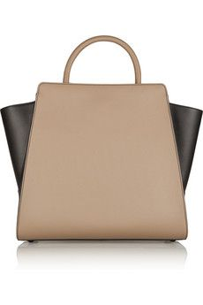 ZAC Zac Posen Eartha two-tone tote | THE OUTNET