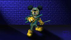 One Kick Ass Mickey by RCBrock.deviantart.com on @deviantART