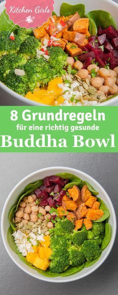 Wir sagen euch was eine Buddha Bowl ist und geben euch das Grundrezept und unser Lieblingsrezept gleich dazu!